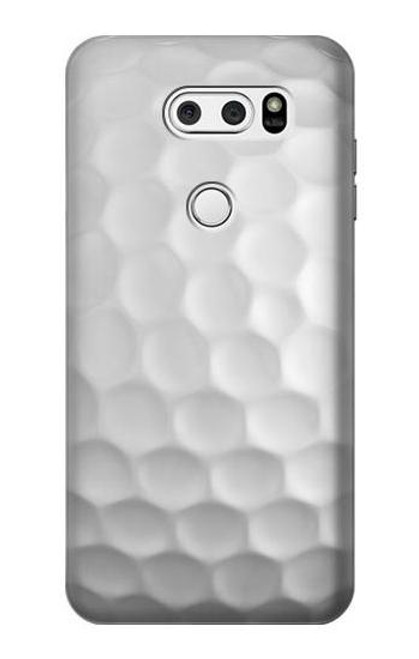 S0071 Golf Ball Etui Coque Housse pour LG V30, LG V30 Plus, LG V30S ThinQ, LG V35, LG V35 ThinQ