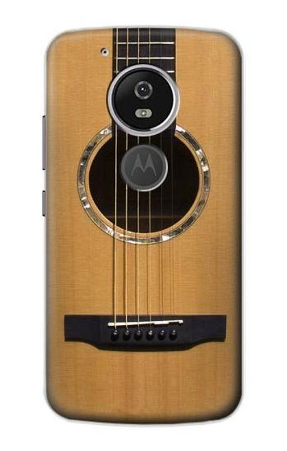S0057 Acoustic Guitar Etui Coque Housse pour Motorola Moto G6 Play, Moto G6 Forge, Moto E5