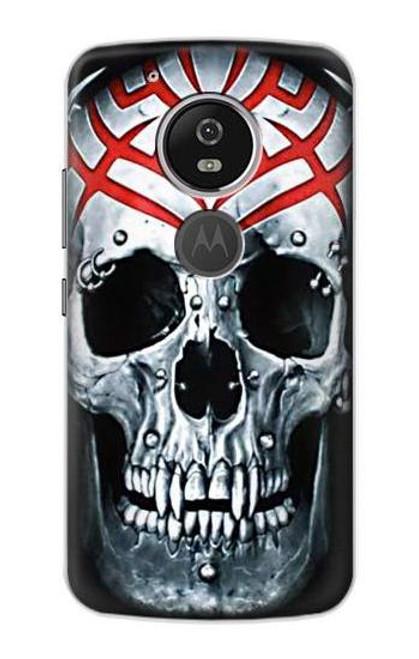 S0223 Vampire Skull Tattoo Etui Coque Housse pour Motorola Moto G6 Play, Moto G6 Forge, Moto E5