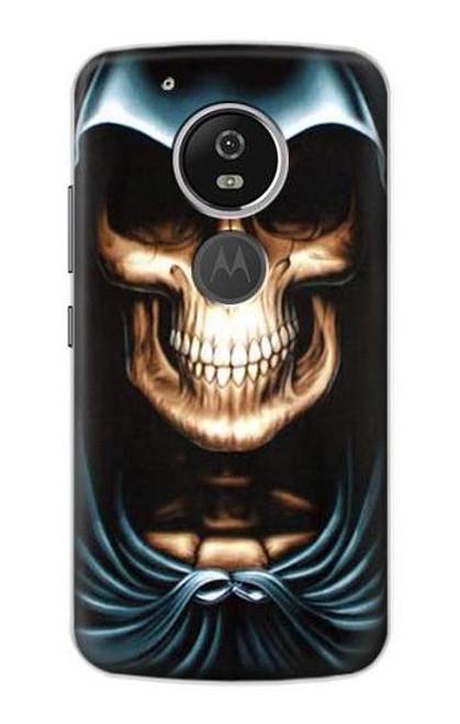 S0225 Skull Grim Reaper Etui Coque Housse pour Motorola Moto G6 Play, Moto G6 Forge, Moto E5