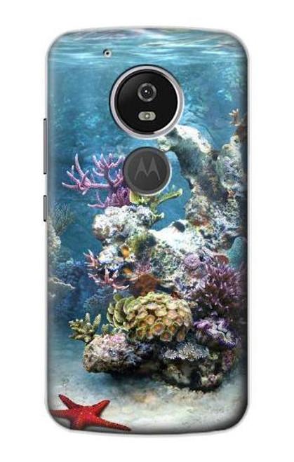 S0227 Aquarium 2 Etui Coque Housse pour Motorola Moto G6 Play, Moto G6 Forge, Moto E5