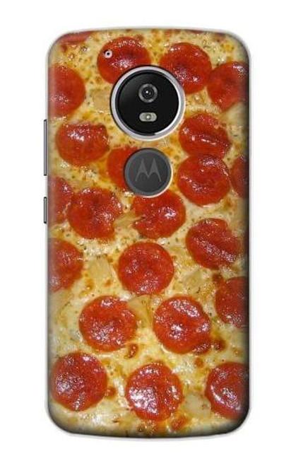 S0236 Pizza Etui Coque Housse pour Motorola Moto G6 Play, Moto G6 Forge, Moto E5