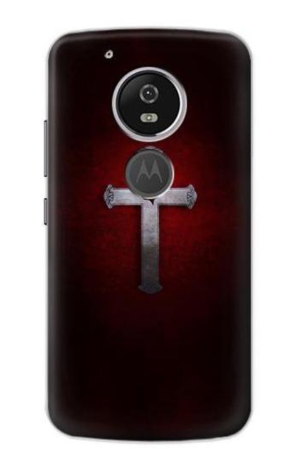 S3160 Christian Cross Etui Coque Housse pour Motorola Moto G6 Play, Moto G6 Forge, Moto E5