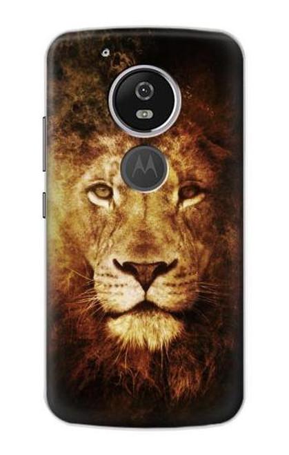 S3182 Lion Etui Coque Housse pour Motorola Moto G6 Play, Moto G6 Forge, Moto E5
