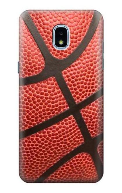 S0065 Basketball Etui Coque Housse pour Samsung Galaxy J3 (2018), J3 Star, J3 V 3rd Gen, J3 Orbit, J3 Achieve, Express Prime 3, Amp Prime 3