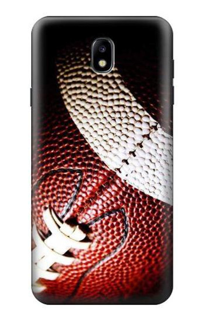 S0062 American Football Etui Coque Housse pour Samsung Galaxy J7 (2018), J7 Aero, J7 Top, J7 Aura, J7 Crown, J7 Refine, J7 Eon, J7 V 2nd Gen, J7 Star