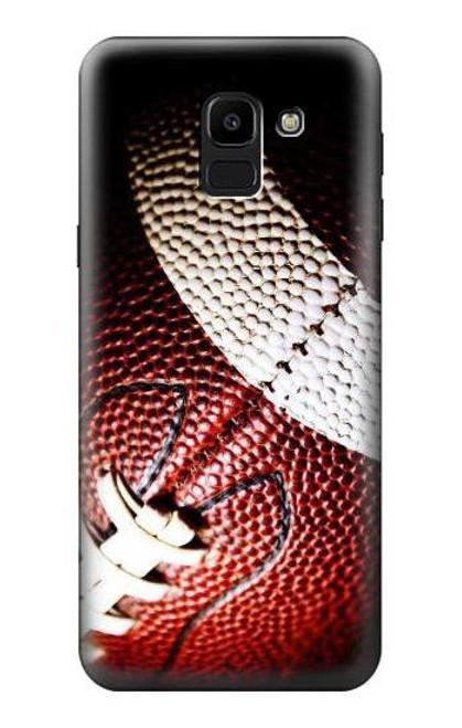 S0062 American Football Etui Coque Housse pour Samsung Galaxy J6 (2018)