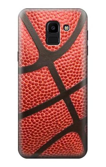 S0065 Basketball Etui Coque Housse pour Samsung Galaxy J6 (2018)