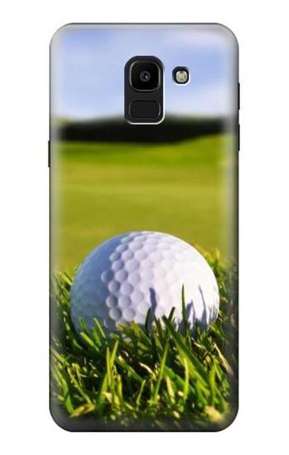 S0068 Golf Etui Coque Housse pour Samsung Galaxy J6 (2018)