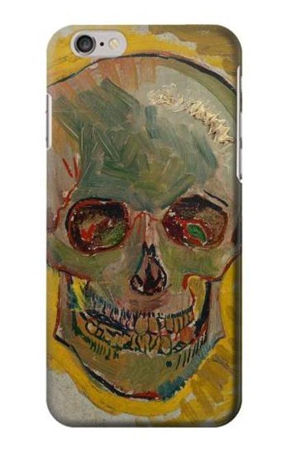 S3359 Vincent Van Gogh Skull Etui Coque Housse pour iPhone 6 6S