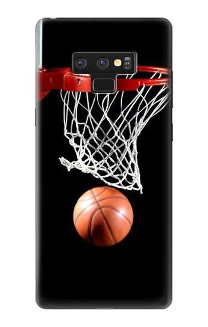 S0066 Basketball Etui Coque Housse pour Note 9 Samsung Galaxy Note9