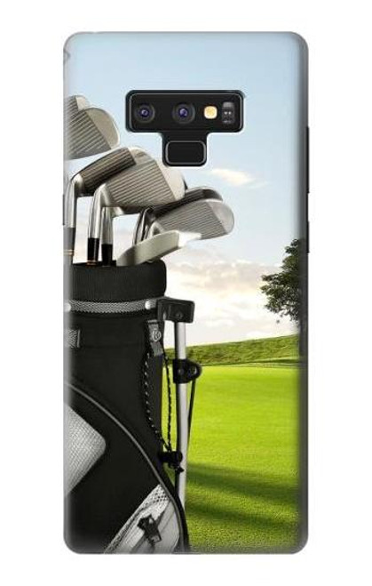 S0067 Golf Etui Coque Housse pour Note 9 Samsung Galaxy Note9