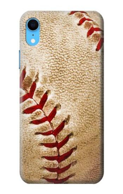 S0064 Baseball Etui Coque Housse pour iPhone XR
