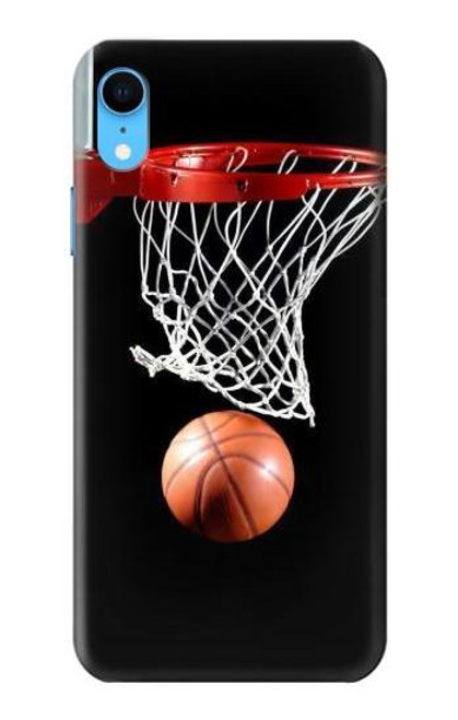 S0066 Basketball Etui Coque Housse pour iPhone XR