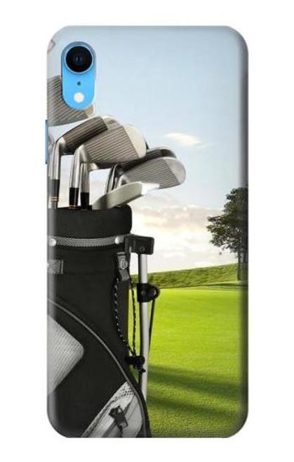 S0067 Golf Etui Coque Housse pour iPhone XR