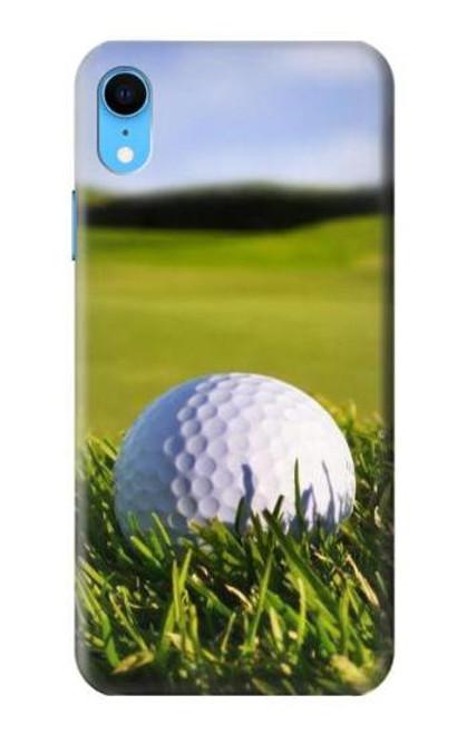 S0068 Golf Etui Coque Housse pour iPhone XR