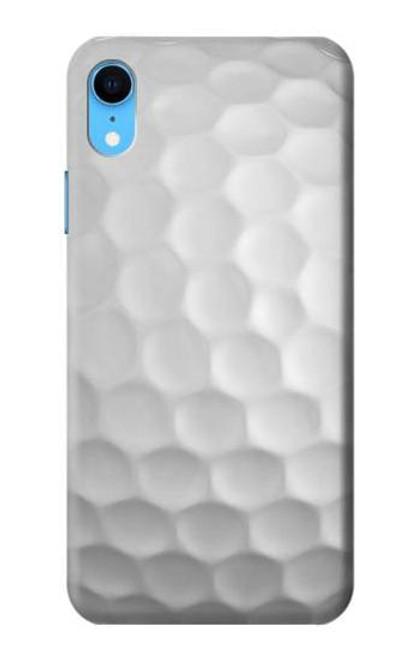S0071 Golf Ball Etui Coque Housse pour iPhone XR