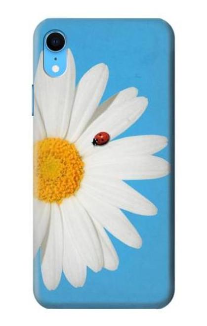 S3043 Vintage Daisy Lady Bug Etui Coque Housse pour iPhone XR