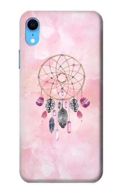 S3094 Dreamcatcher Watercolor Painting Etui Coque Housse pour iPhone XR
