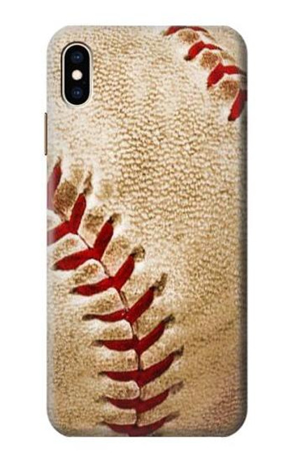 S0064 Baseball Etui Coque Housse pour iPhone XS Max