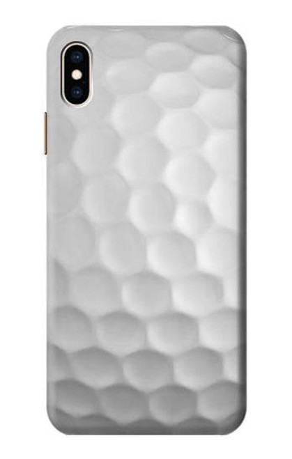 S0071 Golf Ball Etui Coque Housse pour iPhone XS Max