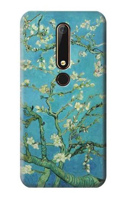 S2692 Vincent Van Gogh Almond Blossom Etui Coque Housse pour Nokia 6.1, Nokia 6 2018