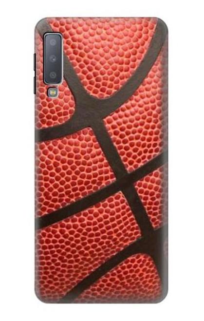 S0065 Basketball Etui Coque Housse pour Samsung Galaxy A7 (2018)
