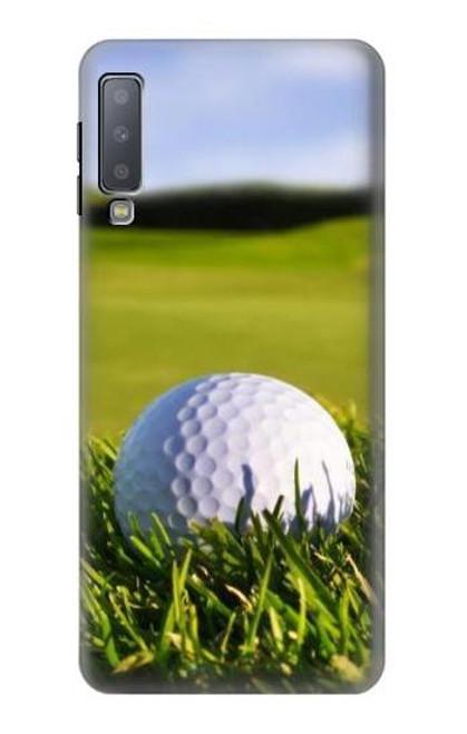 S0068 Golf Etui Coque Housse pour Samsung Galaxy A7 (2018)