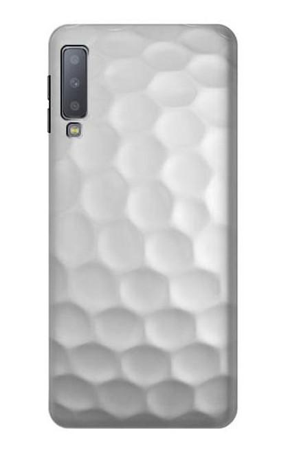 S0071 Golf Ball Etui Coque Housse pour Samsung Galaxy A7 (2018)