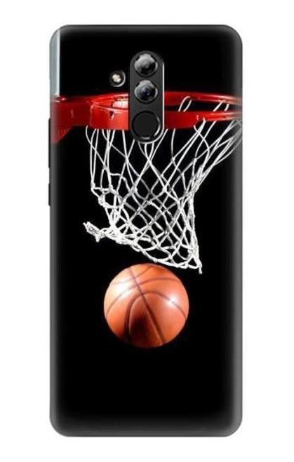 S0066 Basketball Etui Coque Housse pour Huawei Mate 20 lite