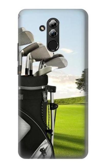S0067 Golf Etui Coque Housse pour Huawei Mate 20 lite
