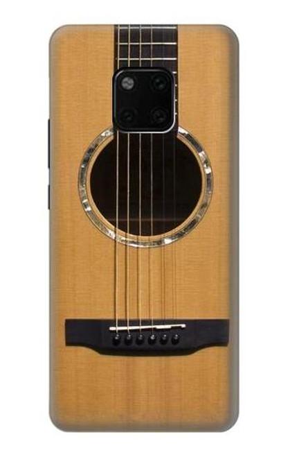 S0057 Acoustic Guitar Etui Coque Housse pour Huawei Mate 20 Pro