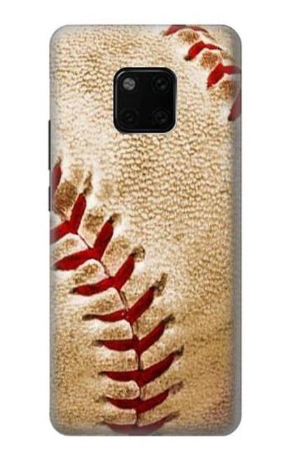 S0064 Baseball Etui Coque Housse pour Huawei Mate 20 Pro
