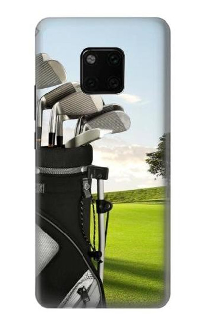 S0067 Golf Etui Coque Housse pour Huawei Mate 20 Pro
