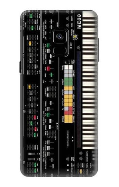 S0061 Synthesizer Etui Coque Housse pour Samsung Galaxy A8 (2018)