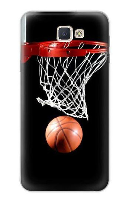 S0066 Basketball Etui Coque Housse pour Samsung Galaxy J7 Prime