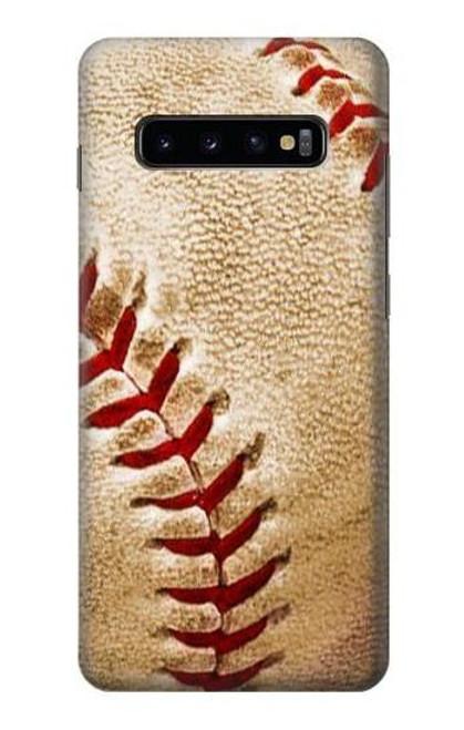 S0064 Baseball Etui Coque Housse pour Samsung Galaxy S10 Plus
