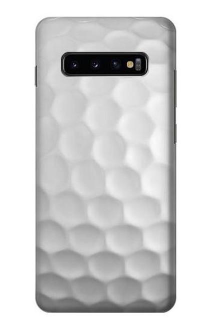 S0071 Golf Ball Etui Coque Housse pour Samsung Galaxy S10 Plus