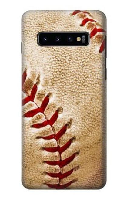 S0064 Baseball Etui Coque Housse pour Samsung Galaxy S10