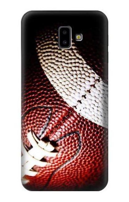 S0062 American Football Etui Coque Housse pour Samsung Galaxy J6+ (2018), J6 Plus (2018)