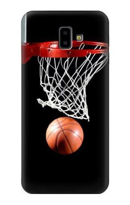 S0066 Basketball Etui Coque Housse pour Samsung Galaxy J6+ (2018), J6 Plus (2018)