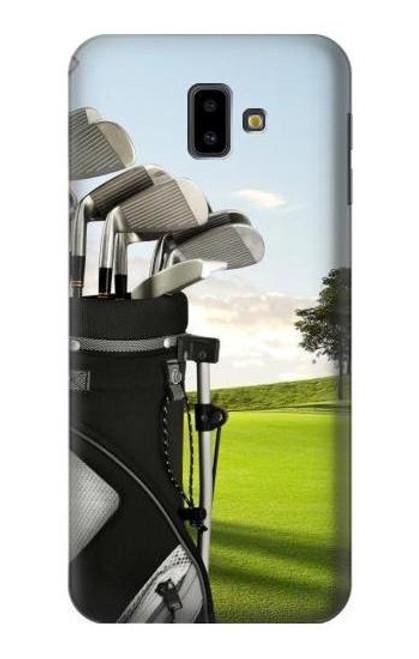 S0067 Golf Etui Coque Housse pour Samsung Galaxy J6+ (2018), J6 Plus (2018)