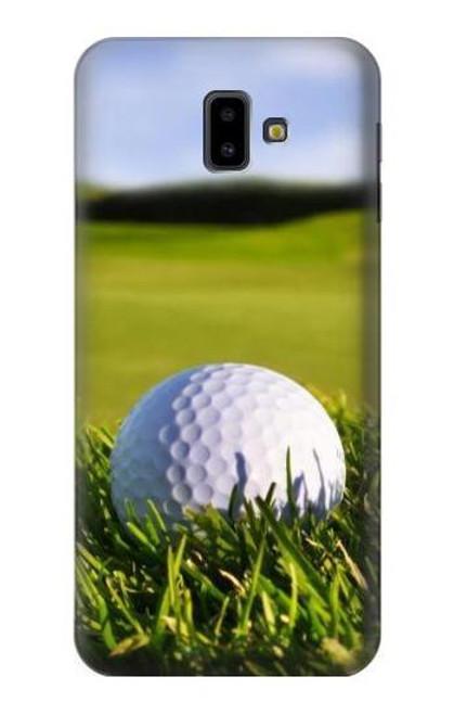 S0068 Golf Etui Coque Housse pour Samsung Galaxy J6+ (2018), J6 Plus (2018)