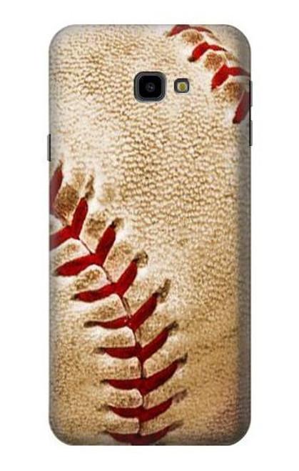 S0064 Baseball Etui Coque Housse pour Samsung Galaxy J4+ (2018), J4 Plus (2018)
