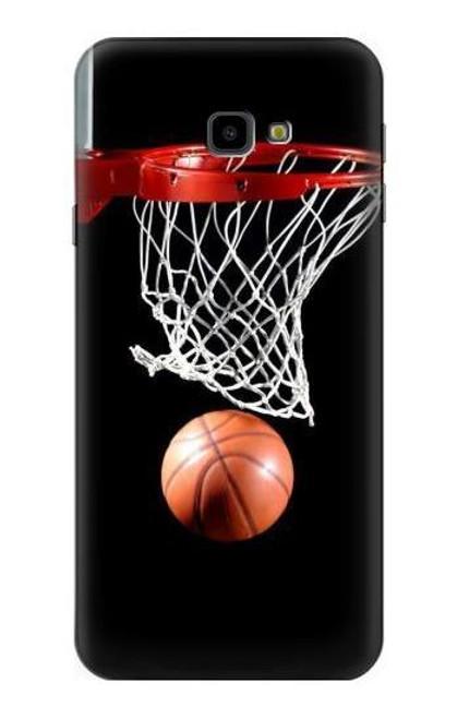 S0066 Basketball Etui Coque Housse pour Samsung Galaxy J4+ (2018), J4 Plus (2018)