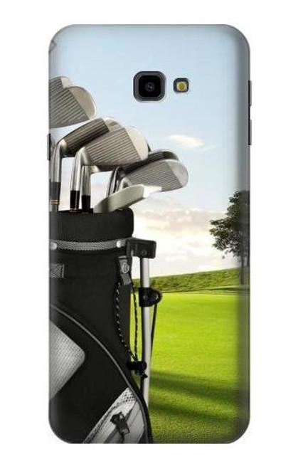 S0067 Golf Etui Coque Housse pour Samsung Galaxy J4+ (2018), J4 Plus (2018)