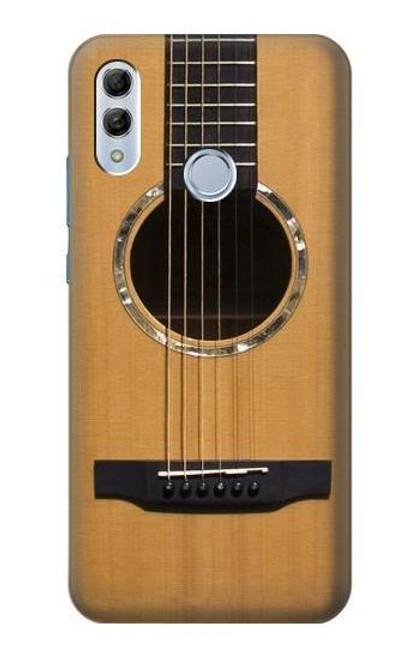 S0057 Acoustic Guitar Etui Coque Housse pour Huawei Honor 10 Lite, Huawei P Smart 2019