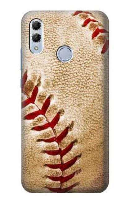 S0064 Baseball Etui Coque Housse pour Huawei Honor 10 Lite, Huawei P Smart 2019