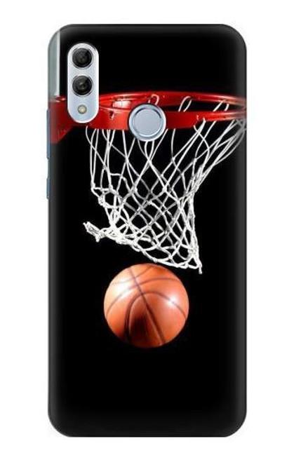 S0066 Basketball Etui Coque Housse pour Huawei Honor 10 Lite, Huawei P Smart 2019