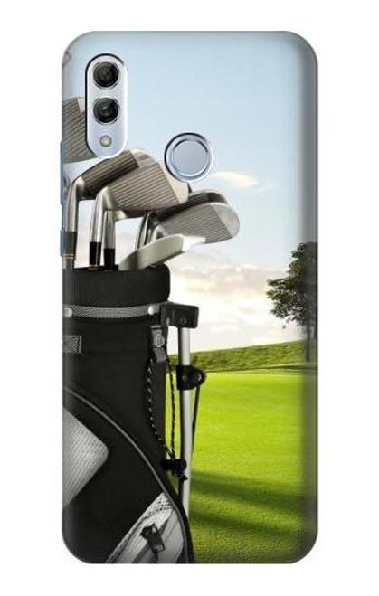 S0067 Golf Etui Coque Housse pour Huawei Honor 10 Lite, Huawei P Smart 2019